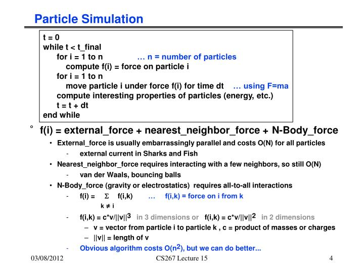 Particle Simulation