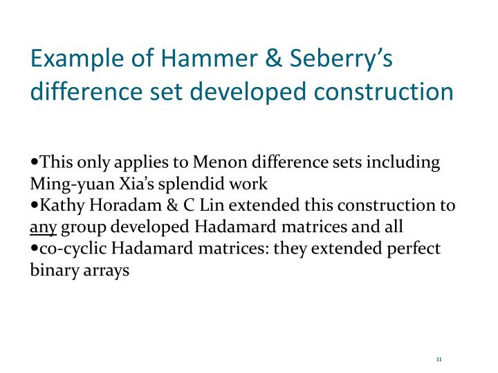 Example of Hammer &