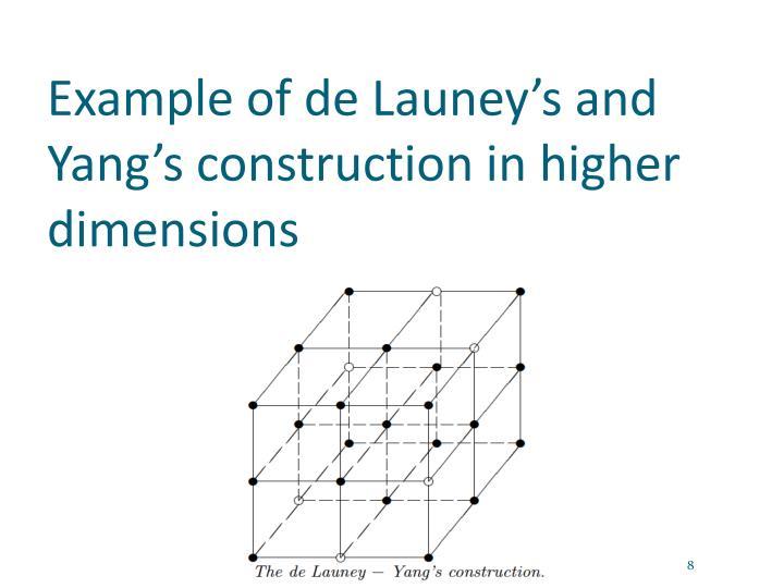 Example of de
