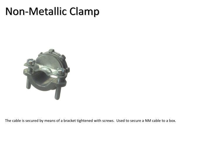 Non-Metallic Clamp