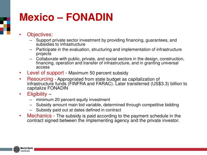 Mexico – FONADIN