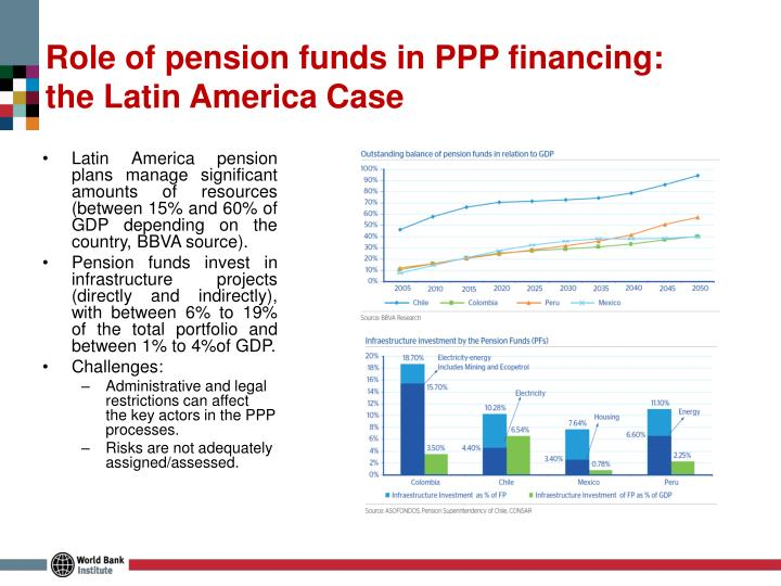 Role of pension funds in PPP financing: the Latin America Case