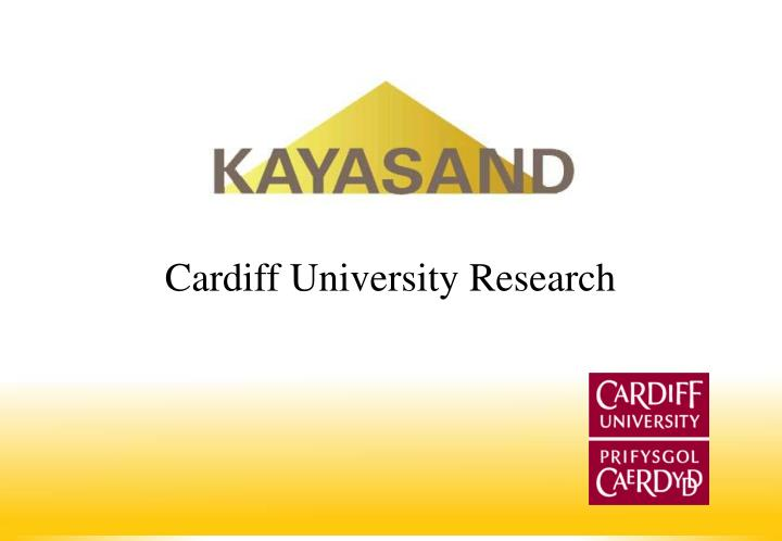 Cardiff University Research