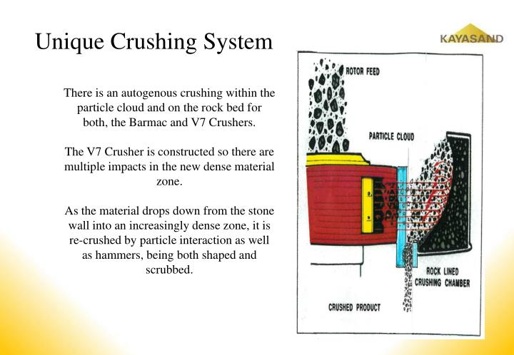 Unique Crushing System