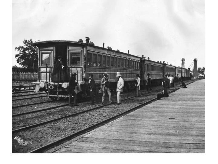 Canadian rail passengers