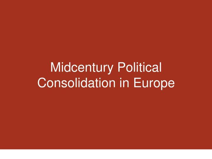 Midcentury Political
