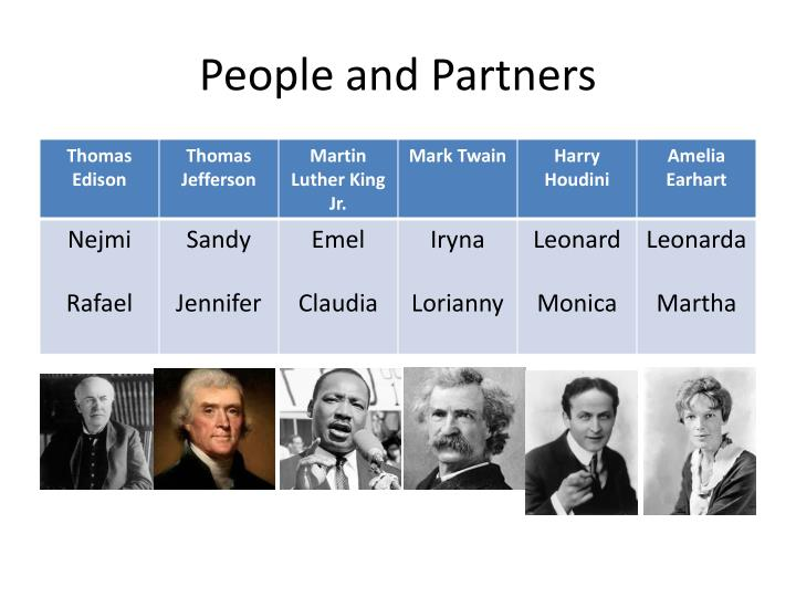 People and Partners