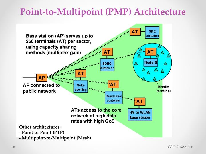 Point-to-Multipoint (PMP) Architecture