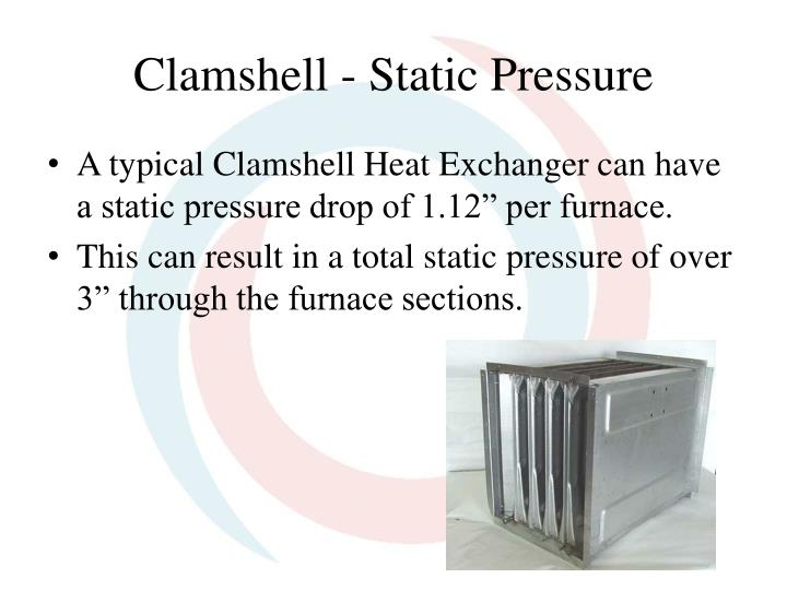 Clamshell - Static Pressure