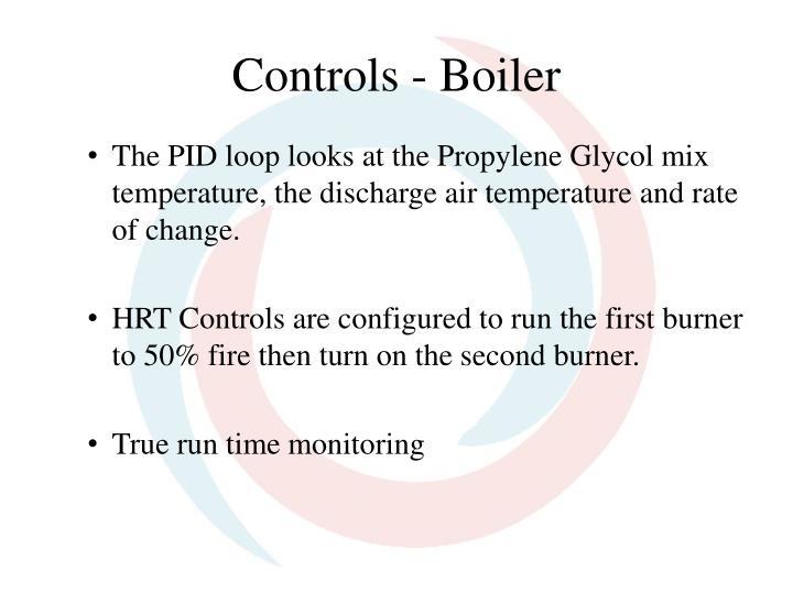 Controls - Boiler