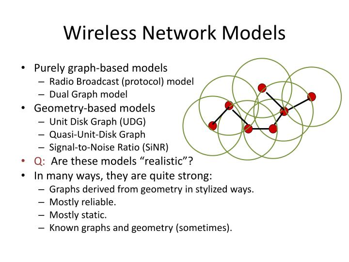 Wireless network models1