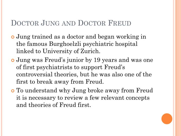 Doctor Jung and Doctor Freud
