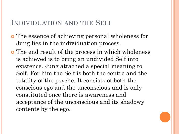 Individuation and the Self