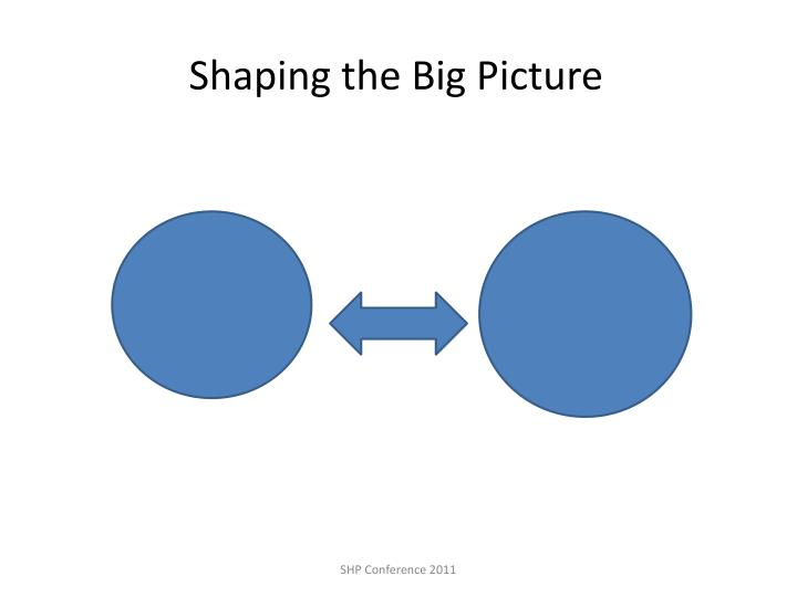 Shaping the Big Picture