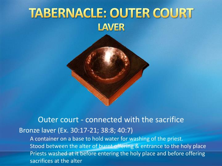 TABERNACLE: OUTER COURT