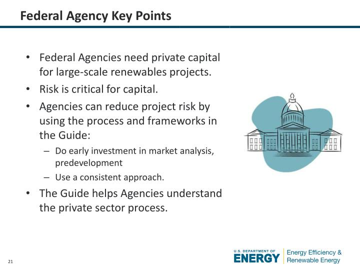 Federal Agency Key Points