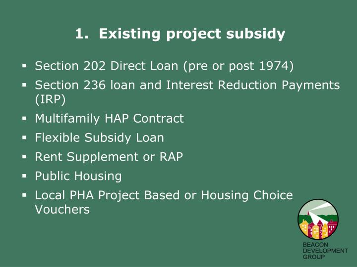 Section 202 Direct Loan (pre or post 1974)