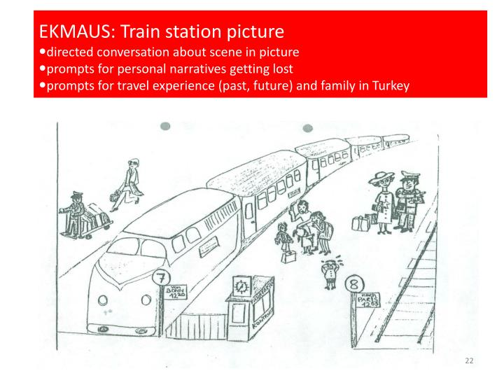 EKMAUS: Train station picture