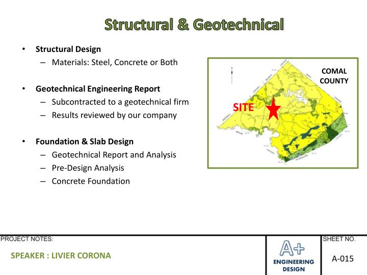 Structural & Geotechnical