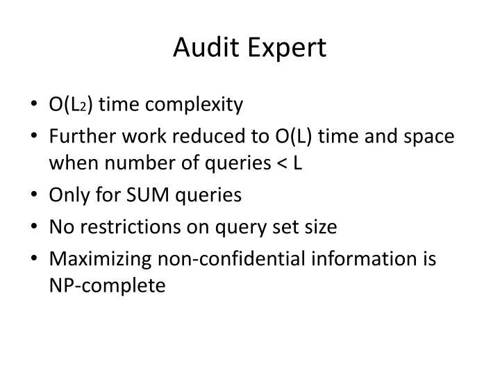 Audit Expert