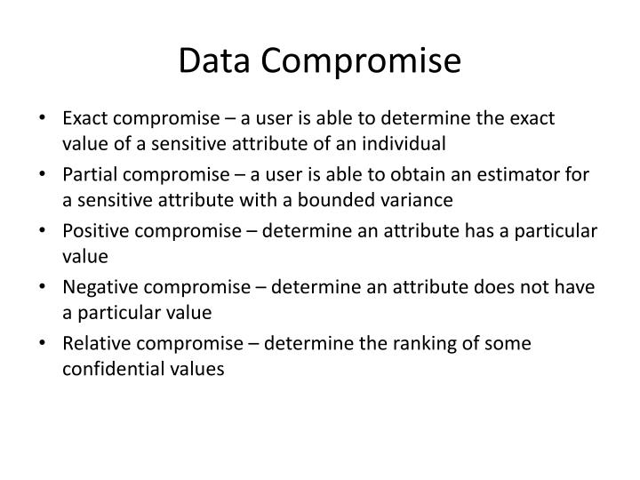 Data Compromise