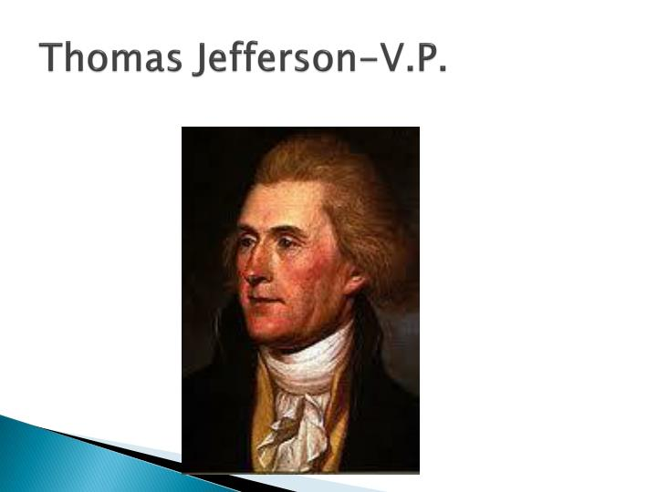 Thomas Jefferson-V.P.