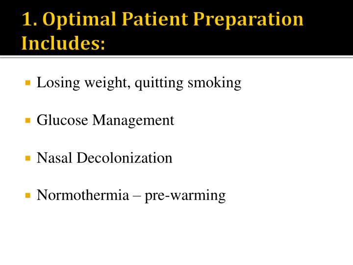 1. Optimal Patient