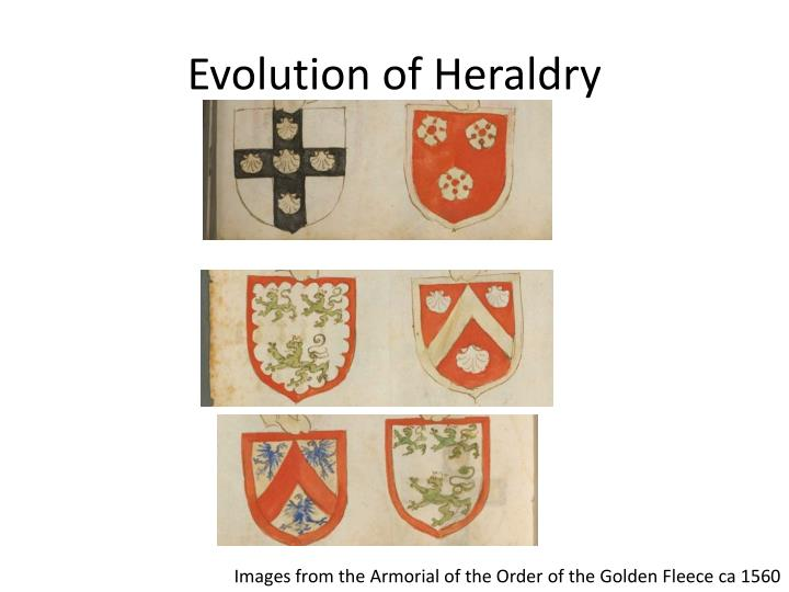 Evolution of Heraldry
