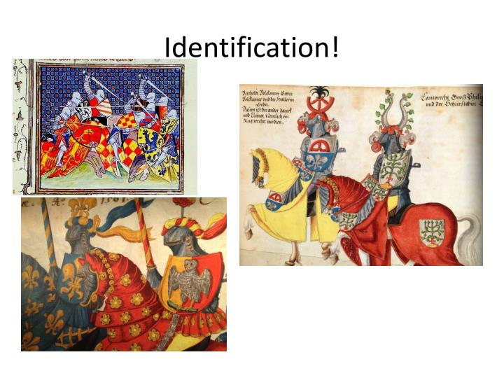 Identification!