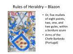 rules of heraldry blazon5