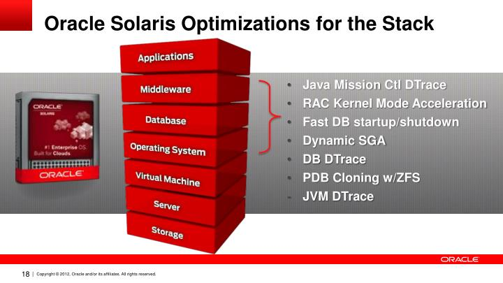 Oracle Solaris Optimizations for the Stack