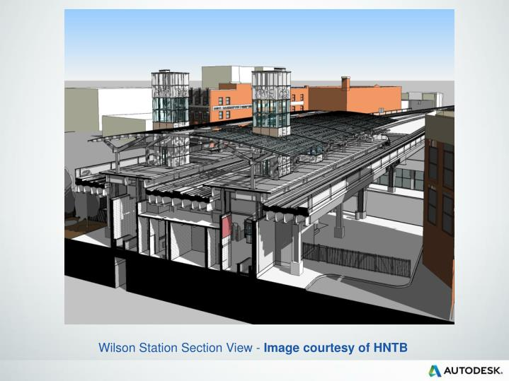 Wilson Station Section View -