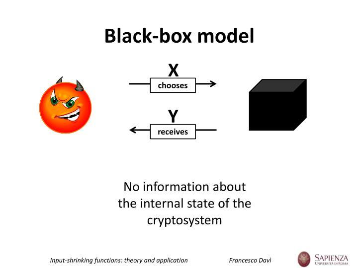 Black-box model