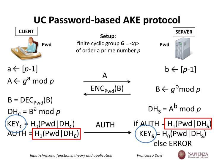 UC Password-