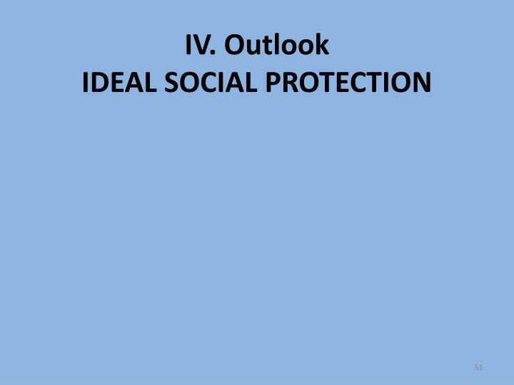 IV. Outlook