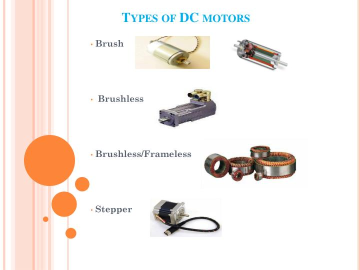 Ppt electric dc motors powerpoint presentation id 1542014 for Types of dc motor