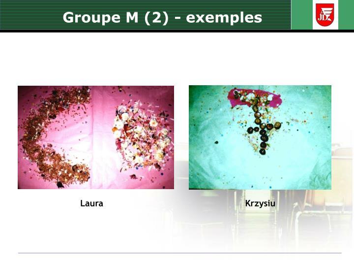 Groupe M (2) -