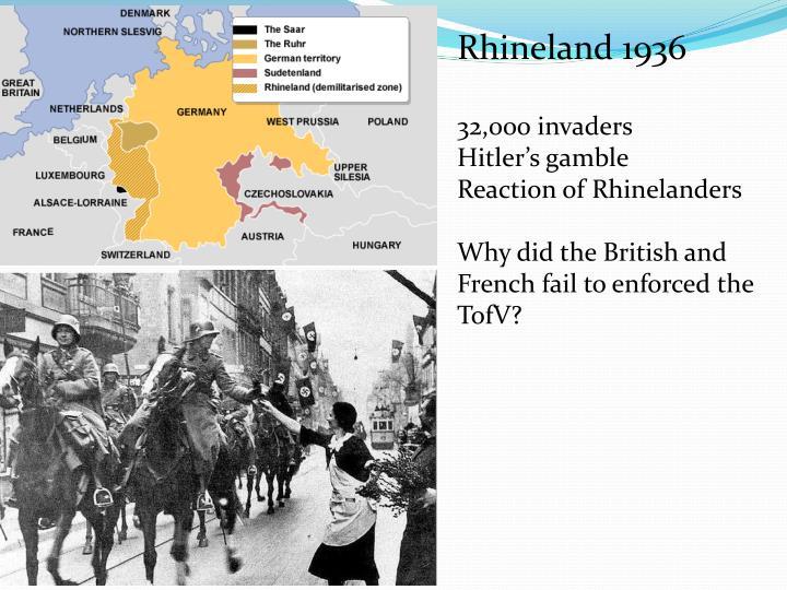 Rhineland 1936