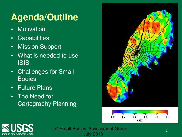 Agenda/Outline