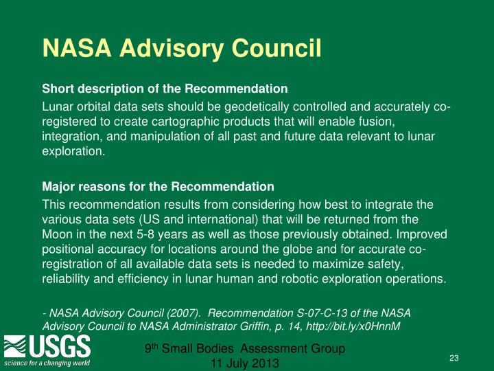 NASA Advisory Council