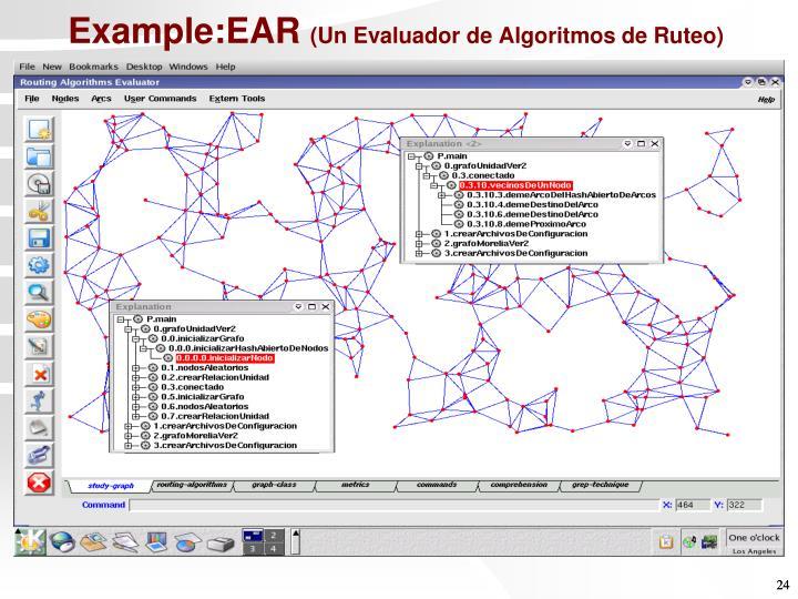 Example:EAR