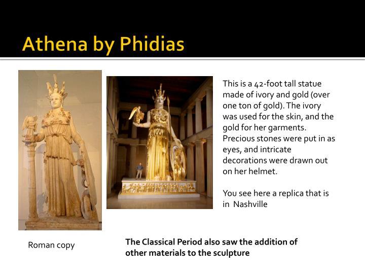 Athena by Phidias