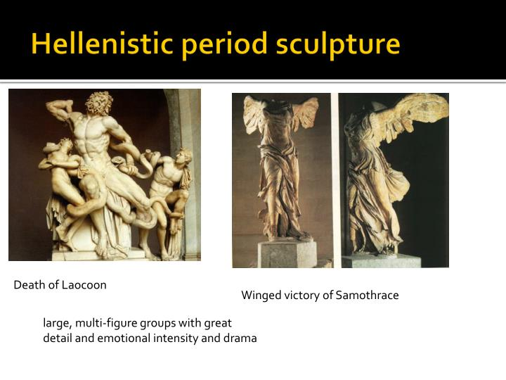Hellenistic period sculpture