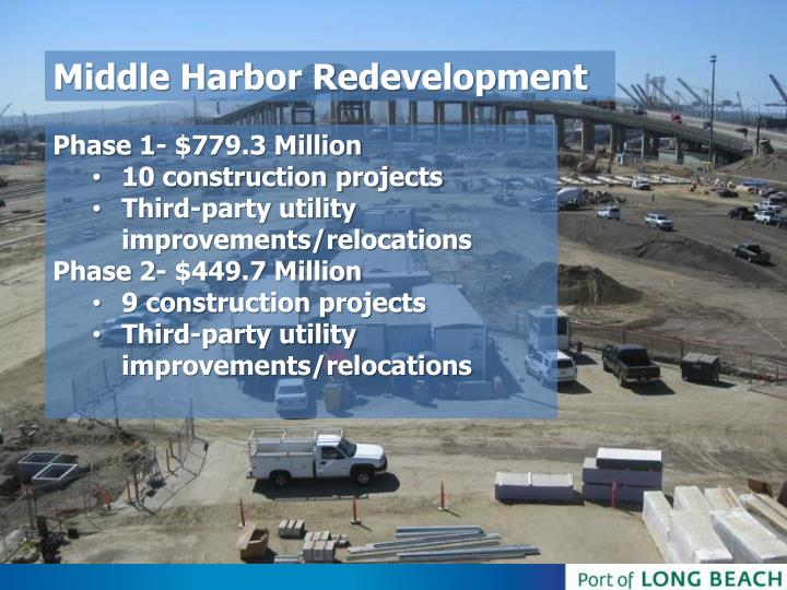 Middle Harbor Redevelopment