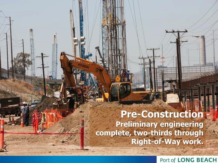 Pre-Construction