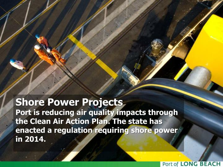 Shore Power Projects