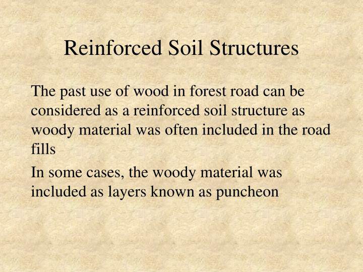 Reinforced Soil Structures