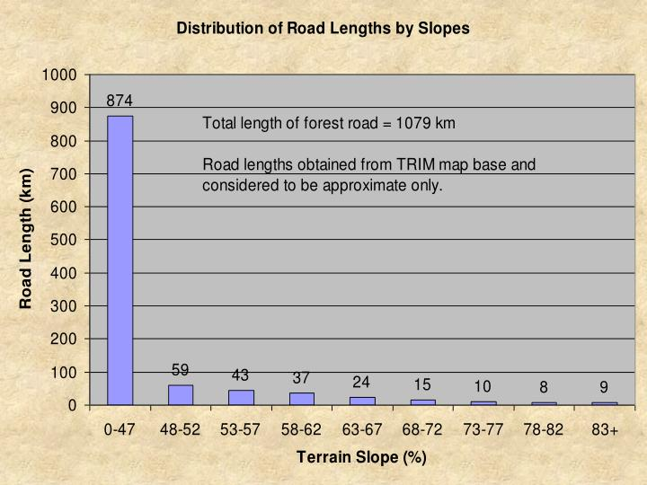 Road lengths