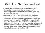 capitalism the unknown ideal2