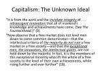 capitalism the unknown ideal3